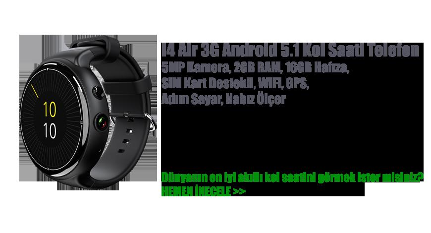 I4 Air 3G Android 5.1 Kol Saati Telefon
