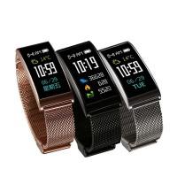 X3 IP68 Su Geçirmez 0.9 inch TFT IPS Renkli Ekran Akıllı Bileklik Kol Saati - Kalp Hızı, Pedometre, Arama