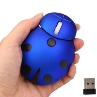 2.4 Ghz Uğur Böceği Görnümlü Kablosuz Usb Mause - Dizütü/Masaüstü/PC, Hediyelik