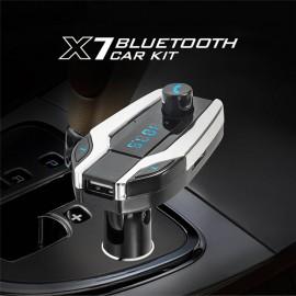 X7 LCD Ekran Bluetooth Aux Araç Kiti Konuşma Destekli - Handsfree, FM Verici, Radyo MP3 Çalar, SD/TF/MMC