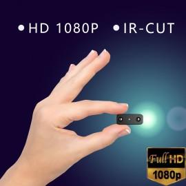 IR-CUT Mini Kamera Küçük 1080P Full HD Spy Kamera - Kızılötesi Gece Görüş, Mikro Kamara, Hareket Algılama DV