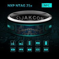 3R Yeni Teknoloji NFC Smart Akıllı Yüzük - NFC Özellikli Yüzük