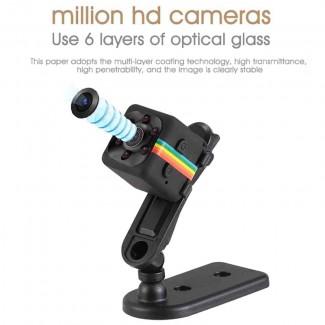 SQ11 Yeni Stil Kızılötesi Gece Görüş HD 12MP Küçük Mini Kamera - Sport, Mikro Kamera