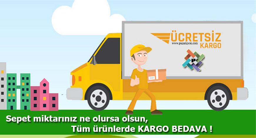 Pazarizyon Tüm Türkiye'ye ücretsiz kargo