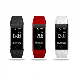 """S2 Kalp Nabız Ölçer Smart Bluetooth Sport Kol Saati - Bileklik, 0.96"""" OLED Ekran, IOS & Android Uyumlu"""