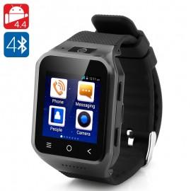 ZGPAX S8 Android 4.4 OS Smart 3G Akıllı Kol Saati Telefon - 5MP Kamera, GPS, Wifi, 1.2GHz Çift Çekirdek