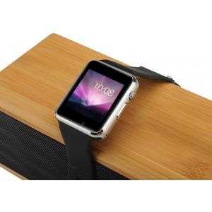 Apple iWatch Tarzı Akıllı Smart Kol Saati Telefon - GSM, Kamera, Kalori, Adım Sayar, Uzak Kamera, Uyku İzleyici