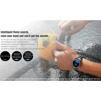 No.1 D7 Bluetooth 3G Android 4.4 NFC Özellikli Kol Saati Telefon - Kalp Nabız Ölçer, Fitness Saat, Adım Sayar