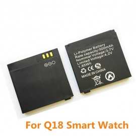 Q18 Batarya Smartwatch Akıllı Kol Saati Bataryası - 500 mAh
