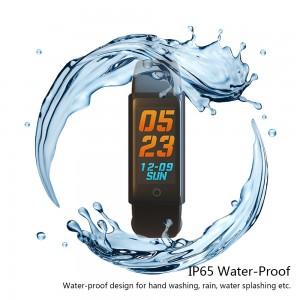 MY-3 Renkli Dokunmatik Ekran Akıllı Bileklik Kol Saati - BT 4.0, Su Geçirmez, Nabız Ölçer, Adım Sayar, Android & IOS