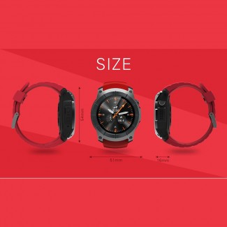 958S GPS Smartwatch Kol Saati Telefon - SIM kart, Barometre, Nabız Ölçer, Akıllı BT, Sport, Uykuz İzleme, IOS & Android Uyumlu