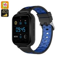 Q1 Pro 1.54 Inch Dokunmatik Ekran Android 6.0 Smart Akıllı Kol Saati Telefon - 4G, SIM Kart, Pedometer, Fitness, Su Geçirmez, 2MP Kamera