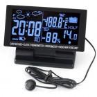 Araba için 5-in-1Çok Fonksiyonlu 4.6 Inch LCD Ekran Dijital Saat + Gerilim + Termometre + Higrometre +Takvim