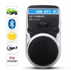 Solar - Güneş Enerji Pilli Bluetooth MP3 - FM Transmitter - Caller ID