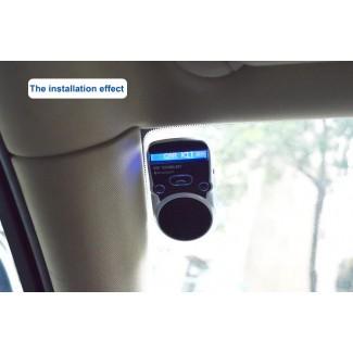 Solar - Güneş Enerji Pilli Bluetooth MP3 - FM Transmitter - Caller ID