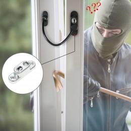 Universal Kilitlenebilir Anahtarlı Pencere Kapı Kısıtlayıcı - Çocuk Bebek Güvenliği, Güvenlik Kilidi Mandallı, Kilit