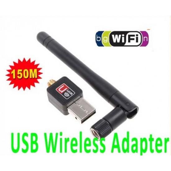 Widemac Nano Mini 150Mps USB WiFi Wireless Network Adaptör - 2dbi Antenli