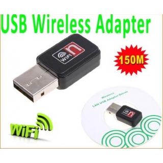Mini 150Mps USB WiFi Wireless LAN 802.11 n/g/b Adaptör (Ralink 5370)