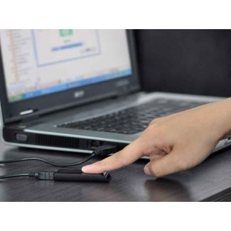 Portatif Biyometrik USB Parmak İzi Okuyucu - Biyometrik Şifre Güvenlik Kilidi, PC, Laptop için