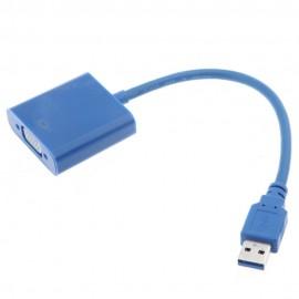 USB 3.0 to VGA Ekran Adaptör - 1920x1080 Destekler
