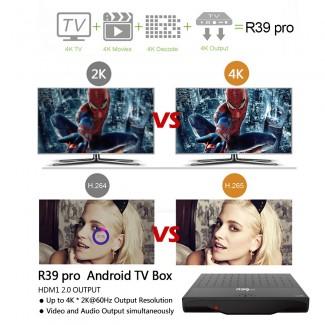 R39 Pro Amlogic S912 4K TV Box - Octa Core KODI 17.0, VP9, 3D, WiFi, AirPlay, Miracast, DLNA