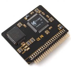 """SD SDHC MMC to 2.5"""" 44 Pin IDE Erkek Adaptör Dönüştürücü - PC'de IDE girişini SD / MMC Kart Girişine Çevirin"""