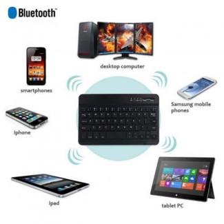 Lenovo Tab 4 Plus / Tab 4 10.1 Inch Tablet için Universal Wireless Kablosuz Bluetooth Klavyeli Kılıf