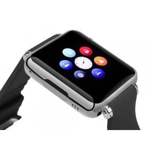 Bluetooth Kol Saati Akıllı Telefon - Telefon Rehberi, Çağrı Yanıt, SMS, GSM SIM Kart Yuvası, 32GB Micro SD Yuvası