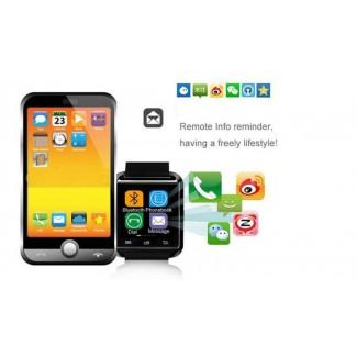 V-8 Bluetooth Akıllı Kol Saati - Windows, Android ve IOS Cep Telefonlarına Uyumlu, En Ucuzu