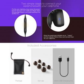 Orijinal MacaW T800 Kulak içi Blutooth Stereo Kulaklık - Sporcu Kulaklık, Blueooth 4.1, Sport, Tüm Android ve İOS Telefonlarla Uyumlu