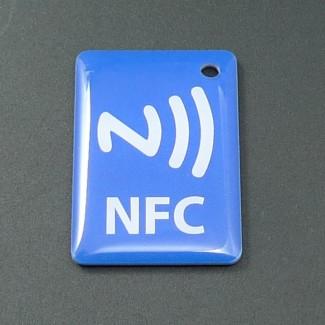 Akıllı Android NFC Özellikli Cep telefonları için 4 Adet Akıllı NFC Etiket