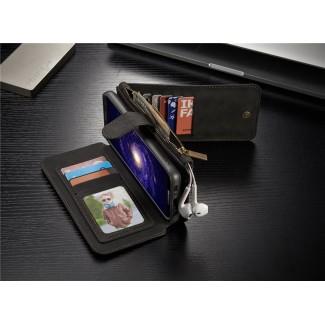 Samsung Galaxy S8 / S8+ Plus için Lux Hakiki Deri Cüzdan Kılıf - S8 / S8+