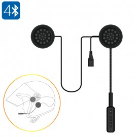 Bluetooth Motosiklet Kulaklığı - Bluetooth 4.0, Dahili Mikrofon, Hands Free Arama, Müzik