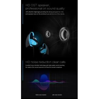 BH802 IPX8 Sugeçirmez HIFI Kablosuz Bluetooth Kulaklık - Yüzücü Kulaklık, Dalış, Fitness, Banyo