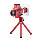 Cep Telefonları için 18X Zoom Teleskop Kamera Lens + Tripod - iPhone, Samsung, HTC, LG, Fotoğrafcılık