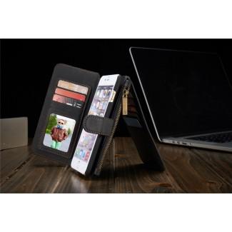 Apple iPhone 6 / 6S / 6 Plus / 6S Plus için Lux Hakiki Deri Cüzdan Kılıf - 6S / 6S+