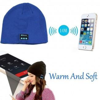 Kablosuz Bluetooth Özellikli Akıllı Şapka Bere - Bere, Kulaklık, Hoparlör, Mikrofon, Sıcak Şapka Bere