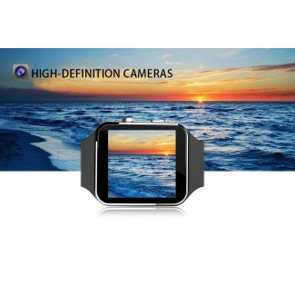 Kavisli Curved Ekran IX6 Bluetooth Akıllı Kol Saati Telefon - SIM Kart, Andorid & iOS Uyumlu