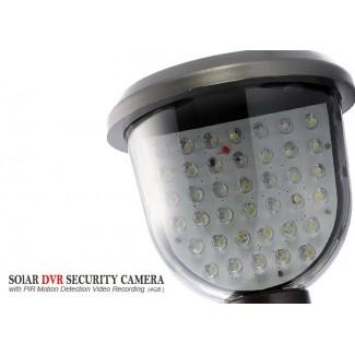 39 LED Işıklı Hareket Algılama Özellikli Solar Güneş Enerjili DVR Güvenlik Kamerası
