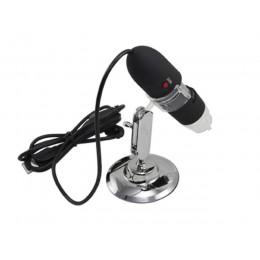 8LED 200X USB Dijital Mikroskop Endoskop Büyütücü Kamera - Siyah