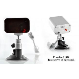 Portatif USB İnteraktif Akıllı Beyaz Tahta - Okullar, İş yerleri, Eğitim Kurumları için (IR Kızılötesi Kalem-Yerleşik)