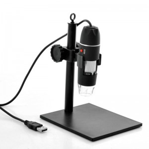 500x Zoom 8 LED USB Digital Mikroskop - Yüksekliği Ayarlanabilir Stand