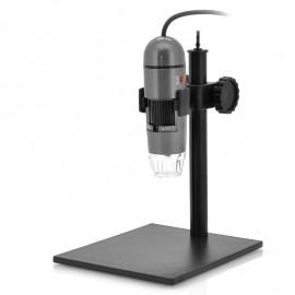 8 LED 600x Zoom USB Dijital Mikroskop - Yüksekliği Ayarlanabilir Stand