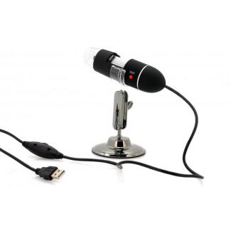 400x Zoom 8 Süper Parlak LED USB Dijital Mikroskop -  Video ve Resim Çekimi
