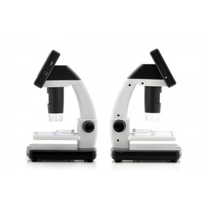 3.5 inch LCD Ekran 5.0 MP Dijital Mikroskop -20x / 500x Büyütme, Micro SD Kart Yuvası