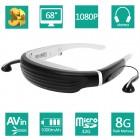 V720 1080P 68 inch 3D Özel Video Sine