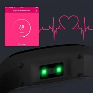 Ordro S Smart Akıllı Spor Kol Bandı Bileklik - BT 4.0, IP67 Su Geçirmez, Adım Sayar, Kalp Nabız Ölçer