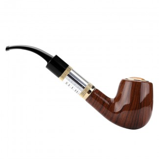 E-Pipe Ahşap Pipo Elektironik Sigara - Otantik Pipo Tasarımı, Ahşap Ağaç
