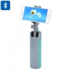 Selfie Çubuklu Bluetooth 4.1 Hoparlör Speaker - 128GB Hafıza Desteği, 5W Hoparlör, 2000mAh Batarya, 360-Derece Döndürme