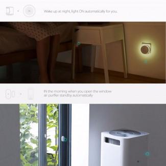 Xiaomi Akıllı Kapı ve Pencere Sensörü - App Kontrolü, iOS ve Android ile Uyumlu